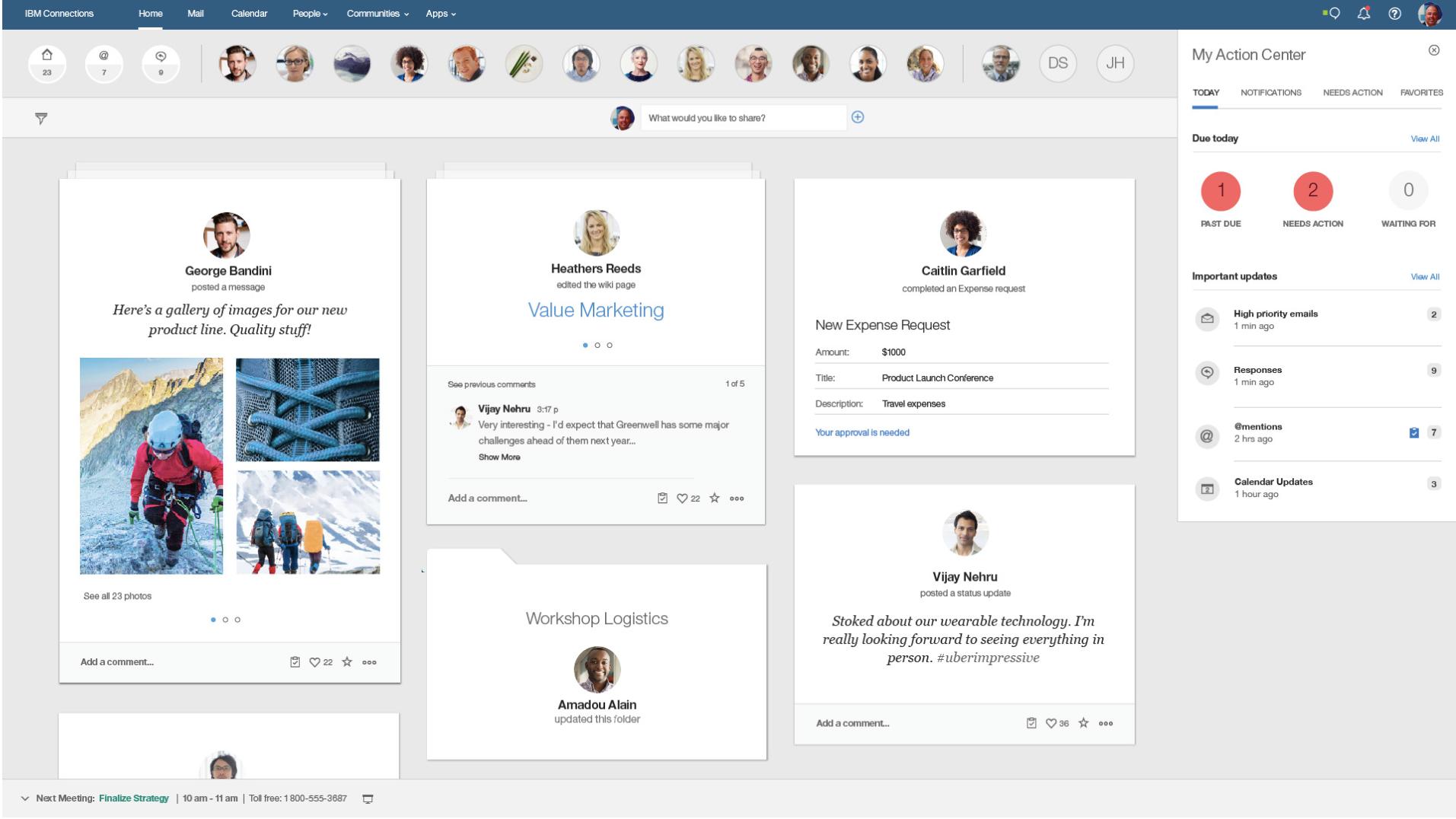 IBM connection cloud dashboard